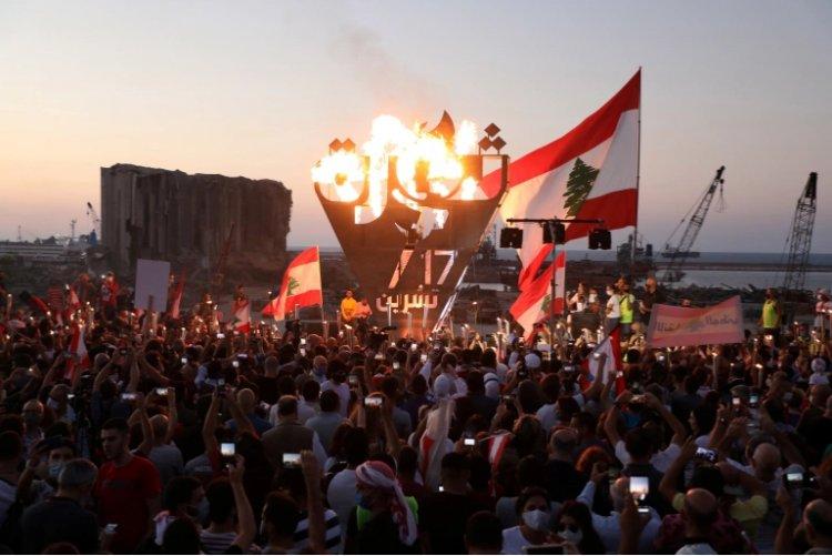 Lebanon's protesters mark anniversary of 'revolution'